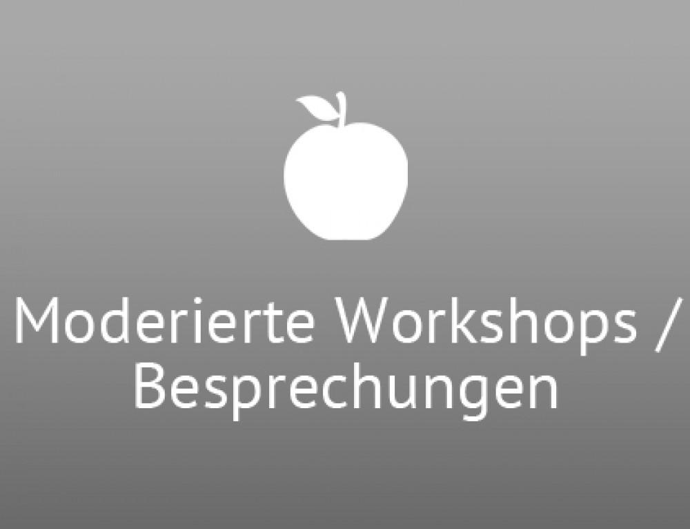 Moderierte Workshops